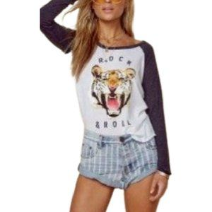 Chaser Rock and Roll Roaring Tiger Tee